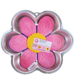 large flower cake pan Re Usable Easter Cooking Tins