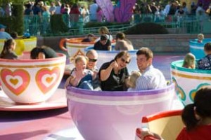 tea cups 300x200 Disneyland Trip To Remember