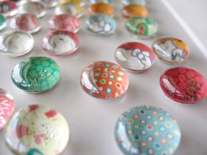 magnets Mothers Day Marble Magnets