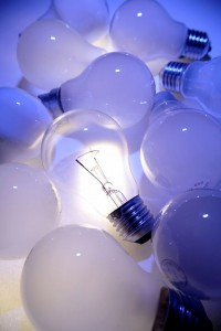 lightbulbs 200x300 Save with CFL or LED lights