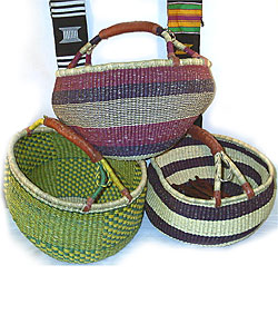 Traditional Baskets from Ghana