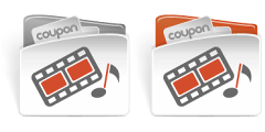 CouponBuzz.com Music, Movies, Entertainment Category Icon