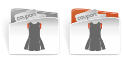 CouponBuzz.com Women's Clothing Category Icon