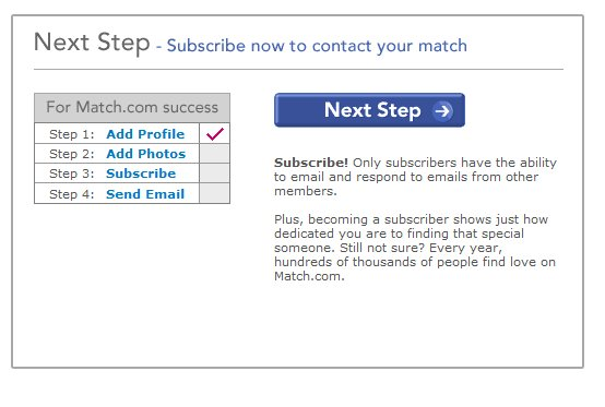 Demonstrates how to enter a coupon code on the Match.com website checkout.