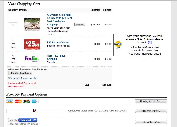 Demonstrates how to enter a coupon code on the CollectiblesToday website checkout.