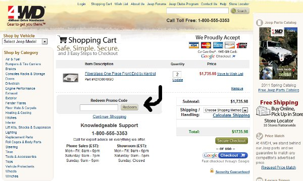 Demonstrates how to enter a coupon code on the Zoobooks Magazine website checkout.