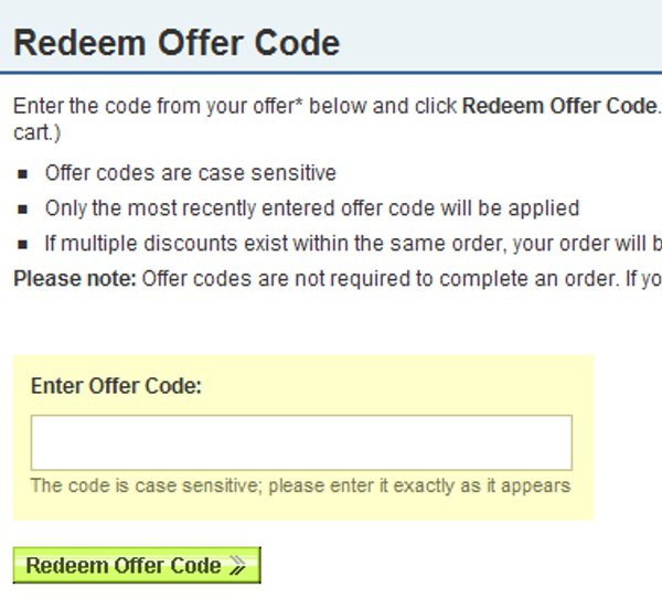 Demonstrates how to enter a coupon code on the Network Solutions website checkout.