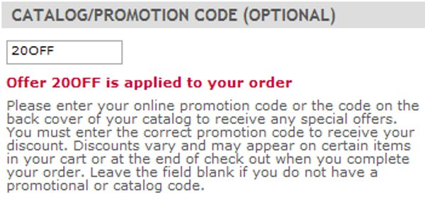 Demonstrates how to enter a coupon code on the Ross-Simons website checkout.