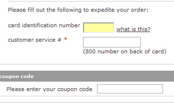 Demonstrates how to enter a coupon code on the TheNerds.net website checkout.