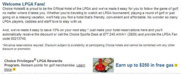 Demonstrates how to enter a coupon code on the Choice Hotels website checkout.