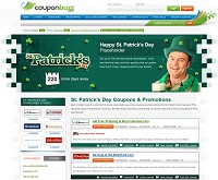 Coupon Buzz St. Patrick's Day Event